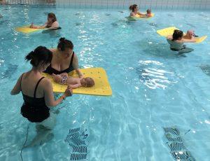 Ouder en Kindzwemmen 0 - 1 jaar Zwembad de Peppel