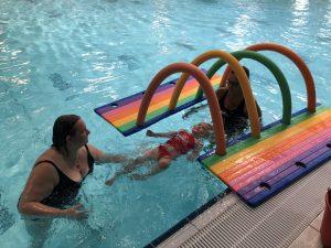 Ouder en Kindzwemmen 2 - 3 jaar bij Zwembad de Peppel