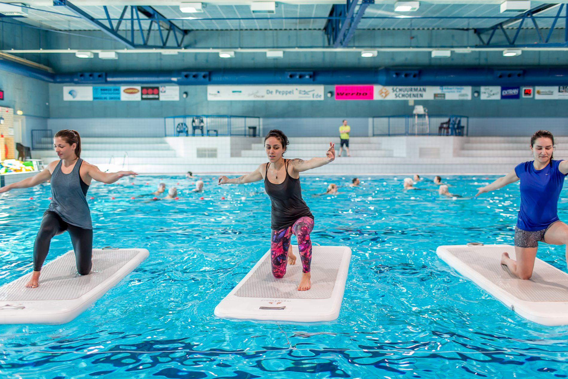 Floatfit Plus bij Zwembad de Peppel