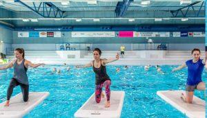 Open Aquasport dag bij Zwembad de Peppel